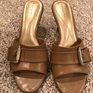 Tahari Slip On Mule Sandals